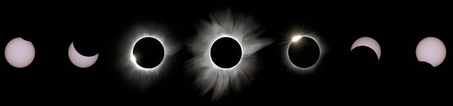 09 March 2016 - Total Solar Eclipse from Palu, Indonesia